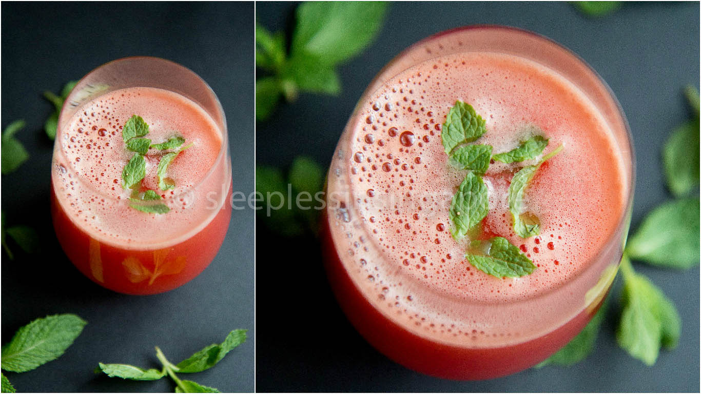 Minty Watermelon Cooler