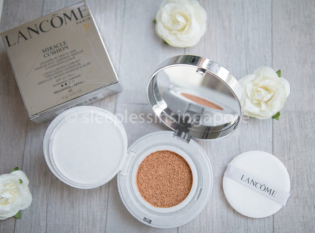Lancôme Miracle Cushion review