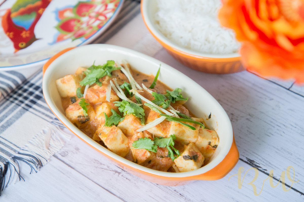 Finger Licking Paneer Butter Masala