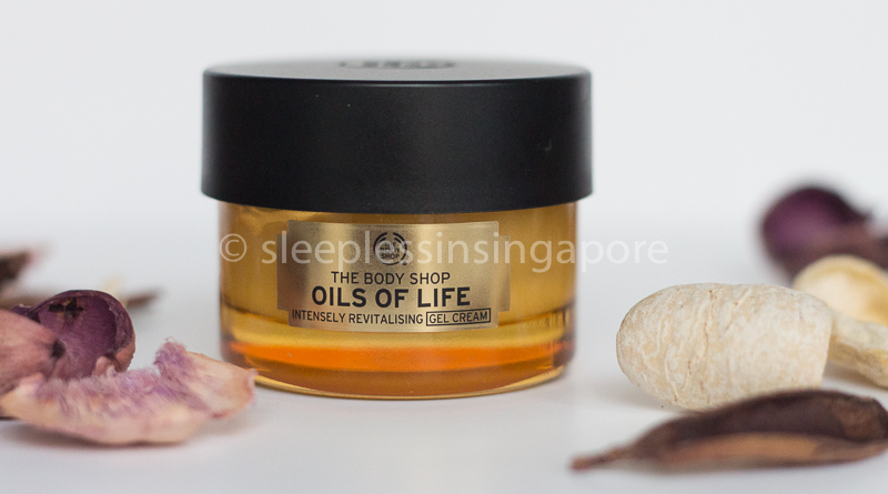 The Body Shop- Oils Of Life Intensely Revitalising Gel Cream