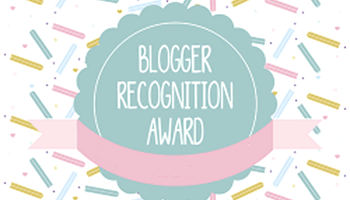 Accepting The Blogger Recognition Award
